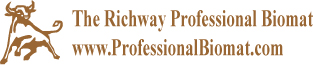 To learn about or order the Richway Professional Biomat, visit http://www.ProfessionalBiomat.com